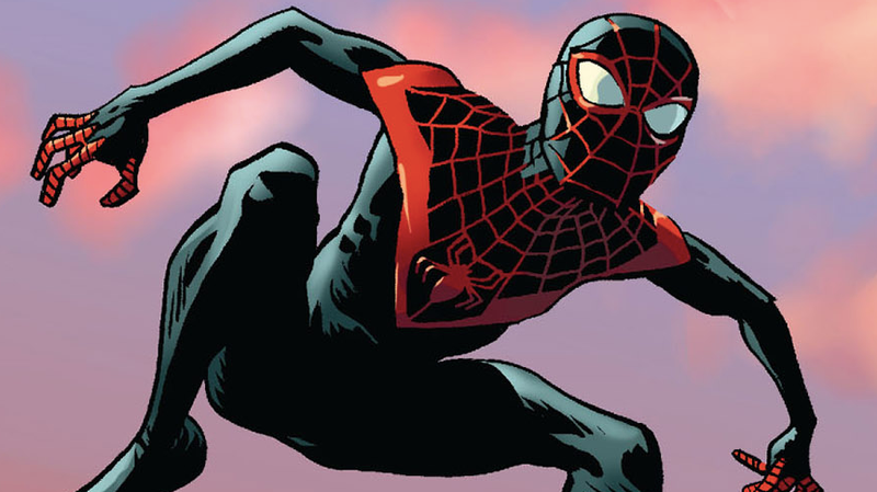 Miles Morales in Ultimate Spider-Man #7.