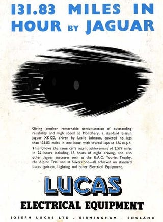 Illustration for article titled Photoshop Up The Best Lucas Electrics Ad Remix, Win A Fabulous Prize!