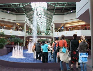 Illustration for article titled Line To Meet Sarah Palin Goes Straight Through Mall Fountain