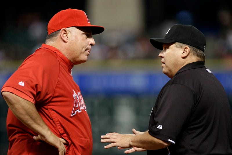 Illustration for article titled MLB Has Disciplined The Umps From Last Night's Angels-Astros Game