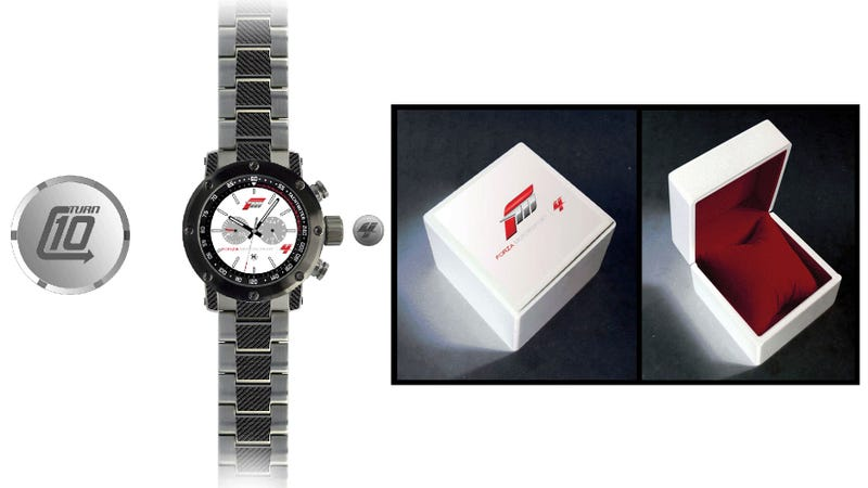 Illustration for article titled Only 500 Wrists Shall Ever Wear This Forza 4 Watch