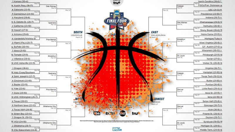Illustration for article titled Build the Perfect March Madness Bracket With the Power of Math