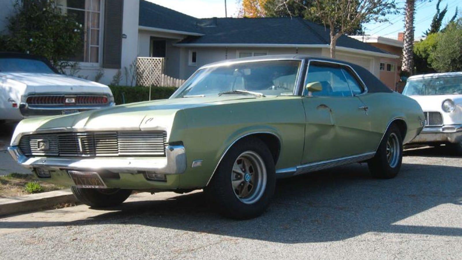 1969 Mercury Cougar 1960s