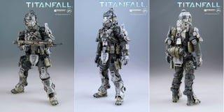 Illustration for article titled Super-Articulated Titanfall Pilot Action Figure