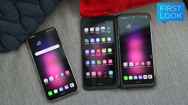 The Dual-Screen LG V60 Might Be the Sleeper Deal of the Season