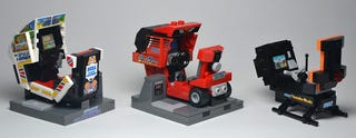 Illustration for article titled Classic Arcade Machines in Tiny LEGO Form