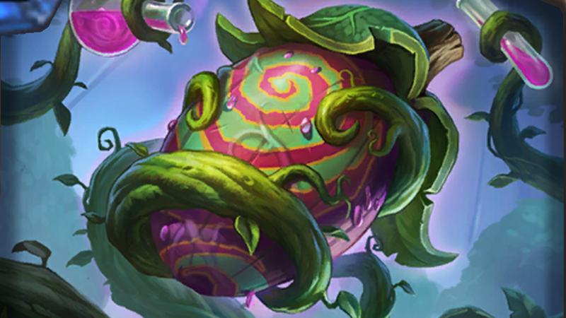 Illustration for article titled Freaky New HearthstoneCard Is One Of The Strongest I've Ever Seen