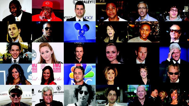 Illustration for article titled 100 Celebrity Birthdays