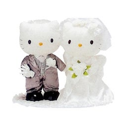 Illustration for article titled Hello Kitty Wedding Gowns: For The Child(ish) Bride