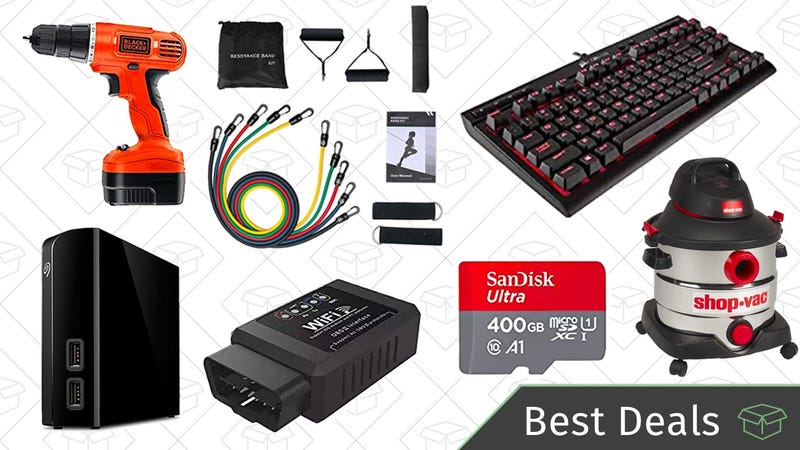 Illustration for article titled Thursday's Best Deals: 6TB External Hard Drive, Ring Doorbell, God of War, and More