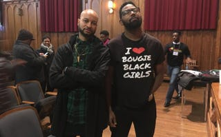 Panama Jackson and Damon Young at the Black Solidarity ConferenceStephanie Eason