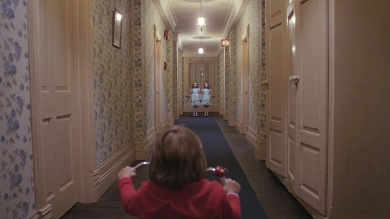 Screenshot: The Shining