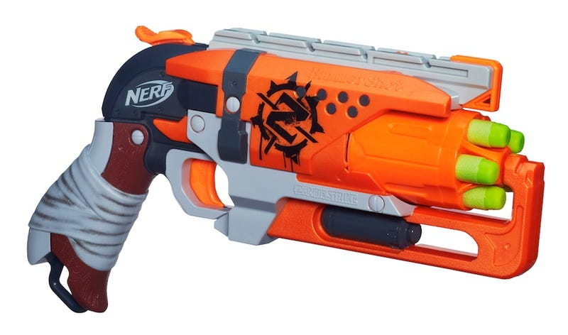 Illustration for article titled Prepare for a Nerf apocalypse with the new Zombie Strike line!