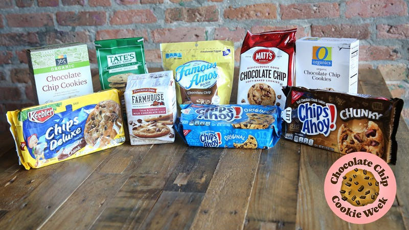 a blind taste test to determine the best store bought chocolate chip