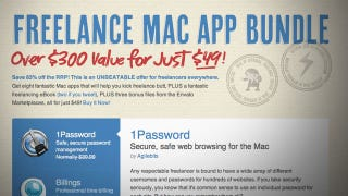 Illustration for article titled Freelance Mac App Bundle Offers Eight Work-Centric Apps at a Serious Discount