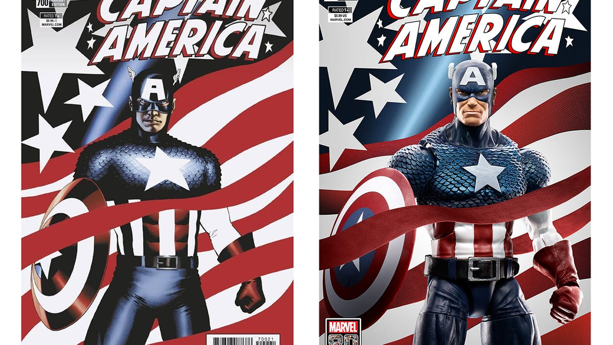Hasbro Recreates Classic Marvel Comic Covers With Toys