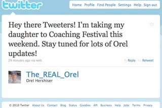 Illustration for article titled Orel Hershiser Goes To Coachella: The Lost Tweets