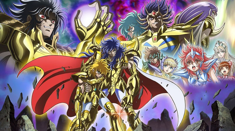 Illustration for article titled The anime of Saint Seiya: Saintia Sho will premiere this december!