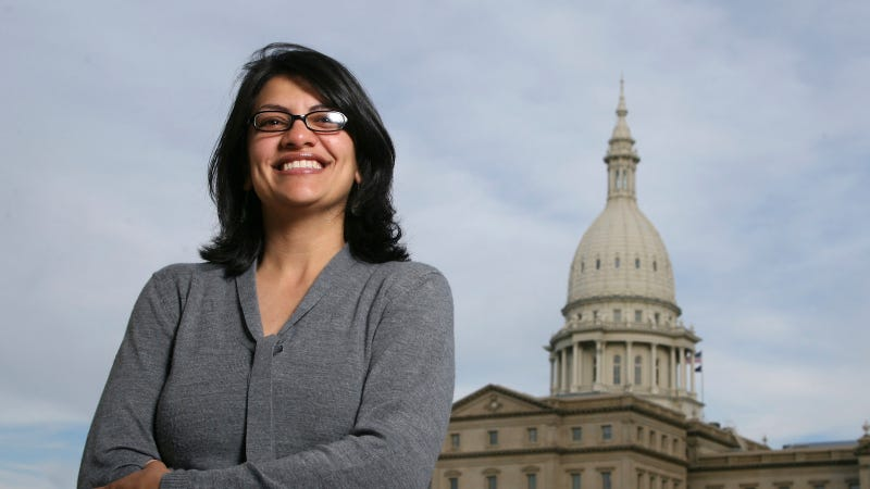 Illustration for article titled Michigan Democrat Rashida Tlaib Poised to Become the First Muslim Woman in Congress
