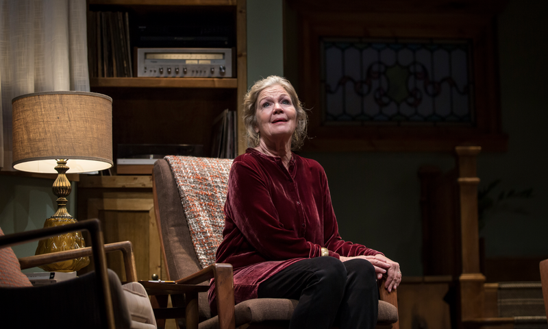 Linda Gehringer as Helene in the world premiere production of Lady in Denmark by Goodman Artistic Associate and Alice Resident Artist Dael Orlandersmith, directed by Chay Yew at the Goodman Theatre in Chicago, Il.