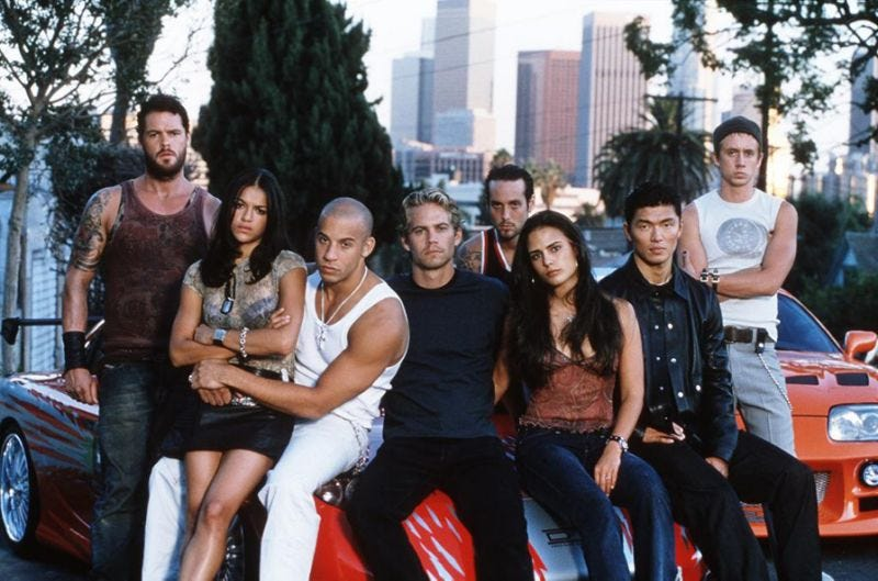 Familia. (Photo Credit: The Fast And The Furious/Universal Studios)
