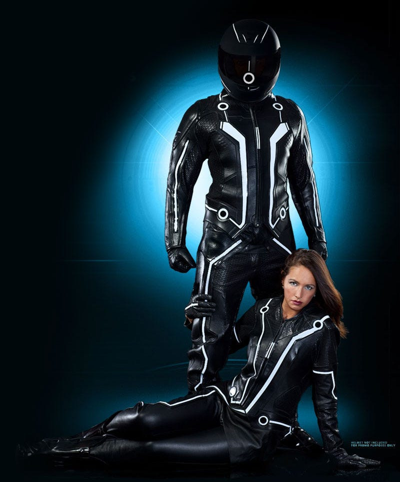 Illustration for article titled You Don't Need a Bike to Crave These Awesome Tron Suit Replicas