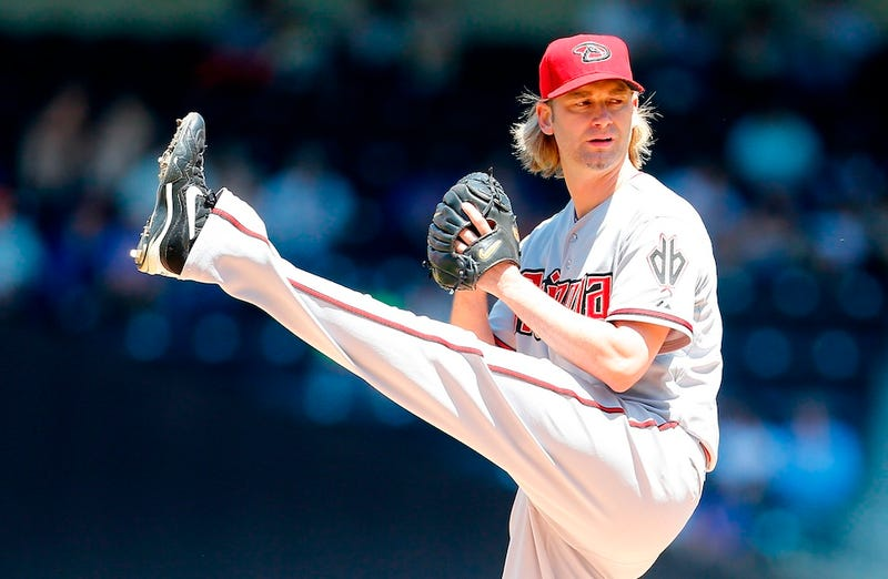 Illustration for article titled Bronson Arroyo Was About As Pretty OK, I Guess, As Anyone Ever