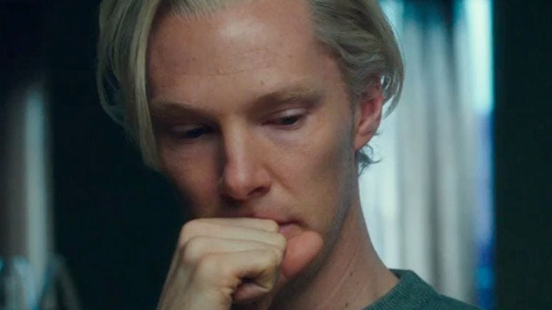 Illustration for article titled Read This: Julian Assange leaked his own chastising letter to Benedict Cumberbatch