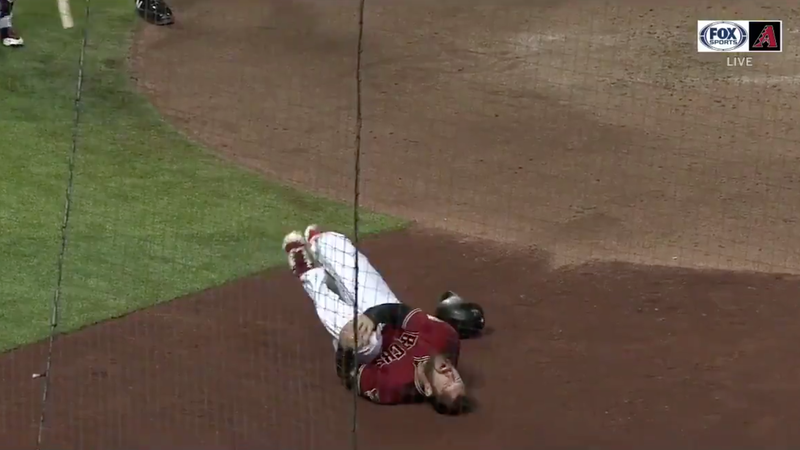 Steven Souza Tore Up His Left Knee By Slipping On Home Plate