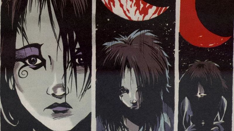 Illustration for article titled The eighth collection of The Sandman offers stirring tales to pass a fatal night