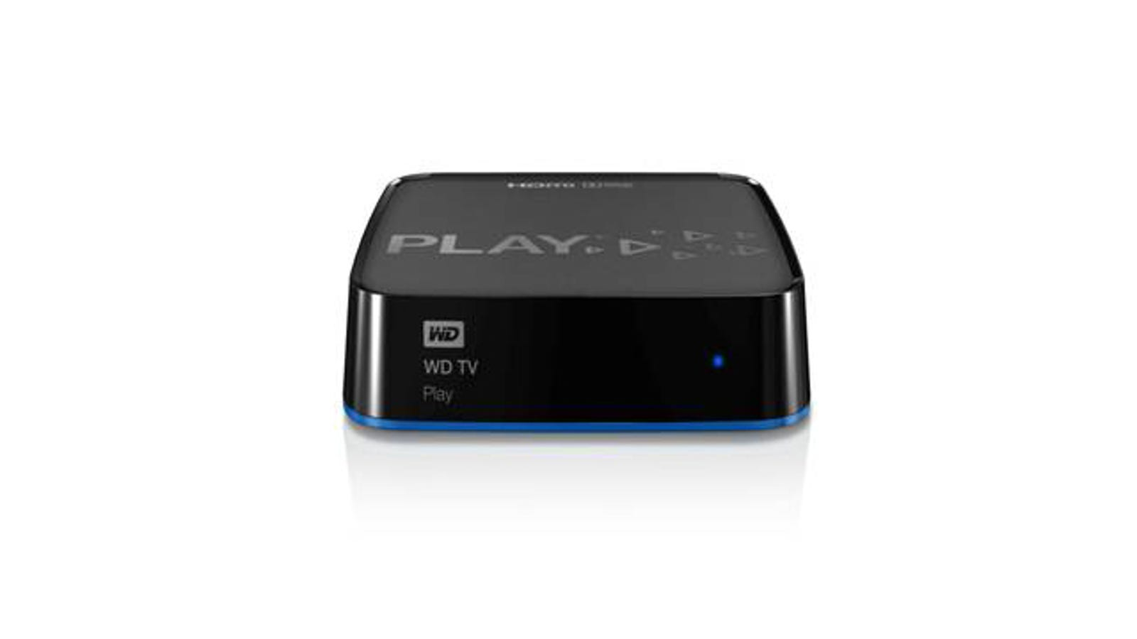 Western Digital's WD TV Play Is Its New Streaming Black Box