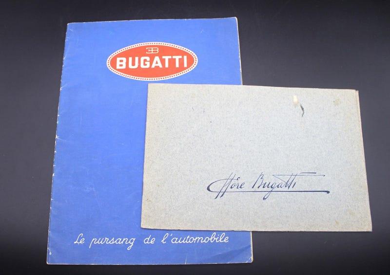 Illustration for article titled Une Décharge de Bugatti