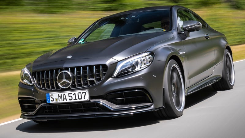 the 2019 mercedes amg c63 gets a new mouth and more gears. Black Bedroom Furniture Sets. Home Design Ideas