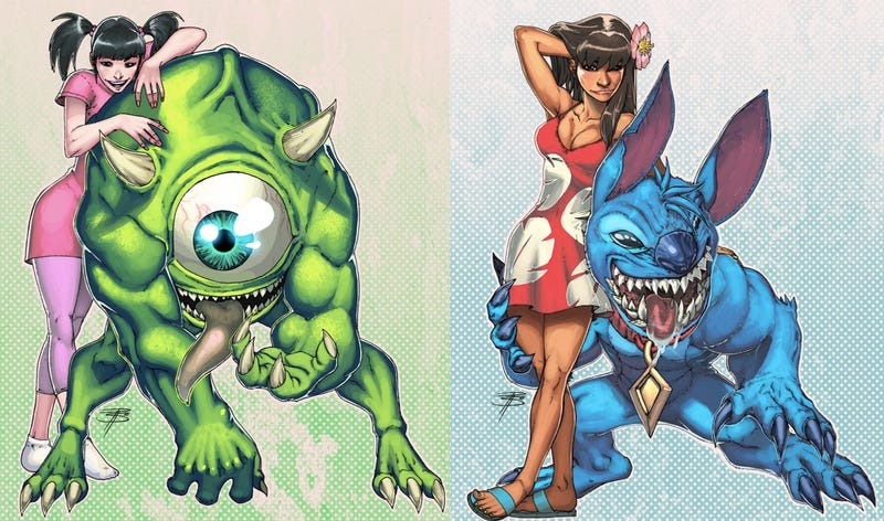 Illustration for article titled Two Disney movies that never needed 1990s comic book makeovers