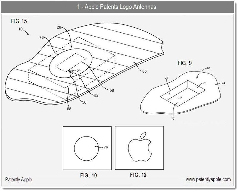 Illustration for article titled Apple Plans to Put Antennas Behind the Logo on Future iPhones