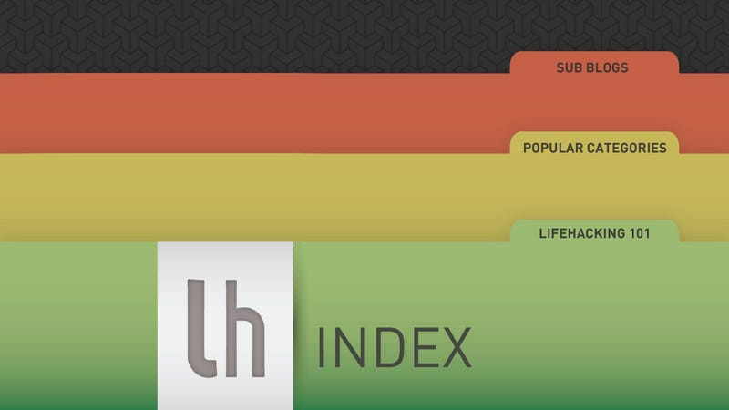 Illustration for article titled Lifehacker: The Index