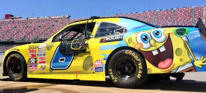 SpongeBob SquarePants On A Race Car: Great Livery, Or Greatest Livery?