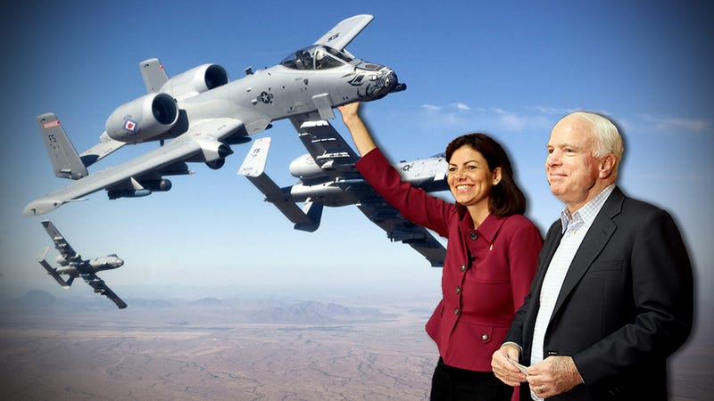 Illustration for article titled Republican Power Gain Could Save The A-10 Warthog's Bacon