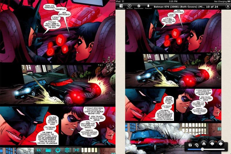 Illustration for article titled Best iPad Comic Reader: Comic Zeal vs. Comic Reader Mobi