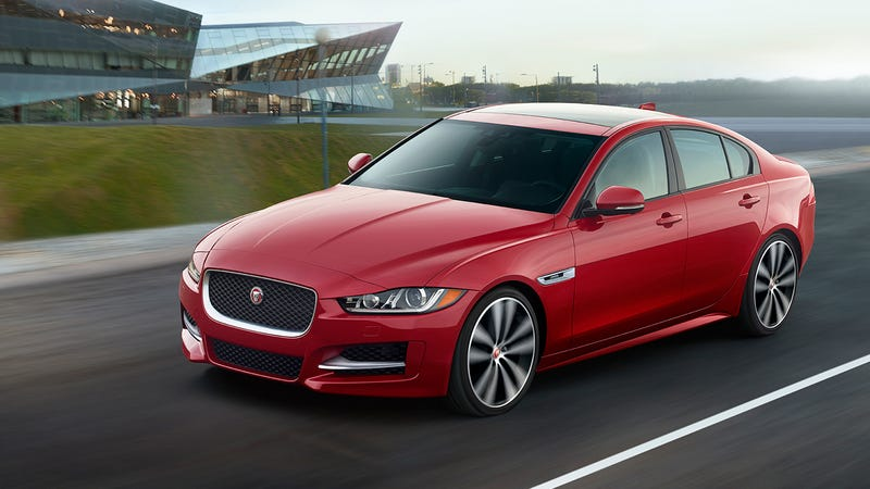 Illustration for article titled So who is excited for the Jag XE?