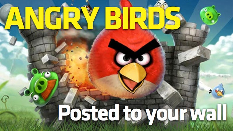 Illustration for article titled Angry Birds Crashing Into Facebook Soon