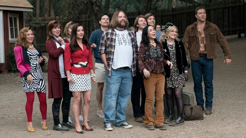 The cast of Wet Hot American Summer: Ten Years Later