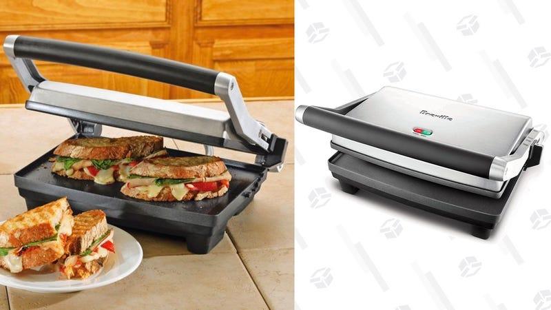 Breville BSG520XL Panini Duo 1500-Watt Nonstick Panini Press | $50 | Amazon