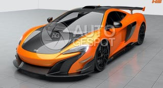 Illustration for article titled This Could Be McLaren's New Limited-Edition 688HS Supercar