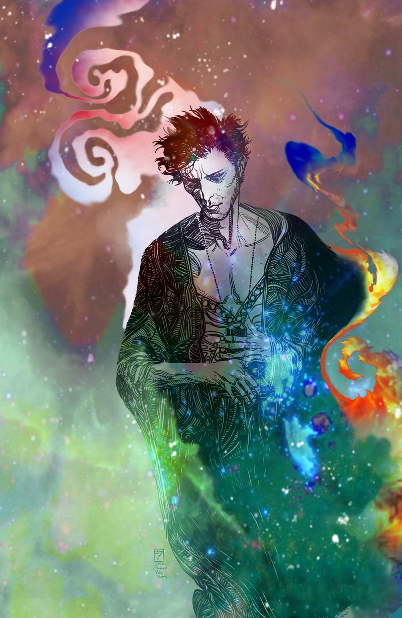 Illustration for article titled Neil Gaiman (and Dave McKean) Return to Sandman This October