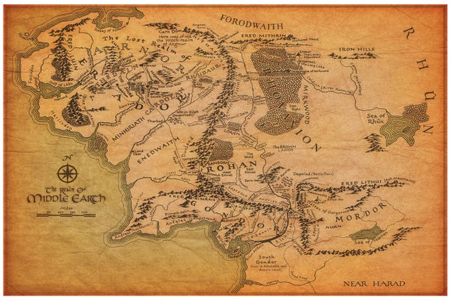 Se vuoi scrivere fantasy ci deve sempre essere una mappa.