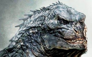 Illustration for article titled This Could Have Been The Face Of The New Godzilla