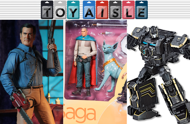 Illustration for article titled Saga's Lying Cat Finally Gets an Action Figure, and More of the Best Toys of the Week