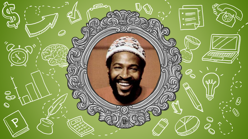 Marvin Gaye's Best Creativity Tips