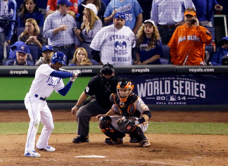 Illustration for article titled Marlins Man And Royals In Weirdest Feud Of The World Series